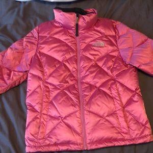 Northface Pink Winter Coat